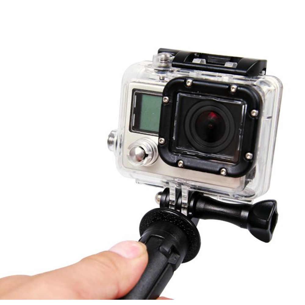 Gosear Monopé Tripé Montar Titular para Gopro Go Pro Herói 6 5 4 3 2 Xiomi Xiaomi Yi 4 K Acessórios SJ4000 Câmera de Ação de Esportes