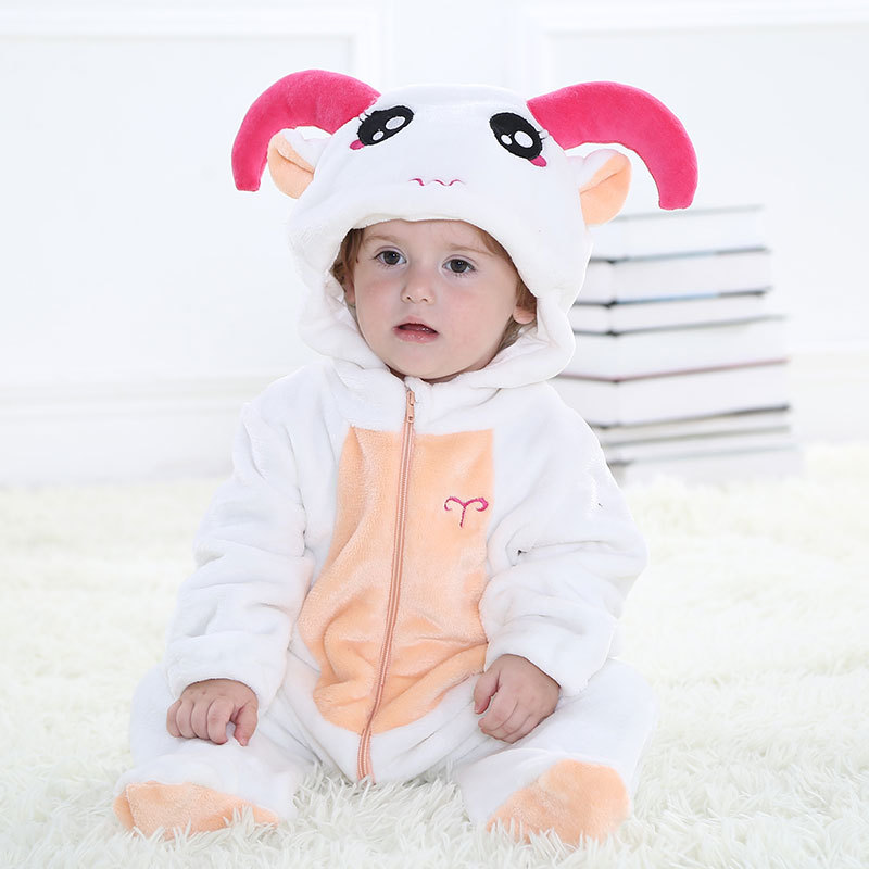 New Constellation Designs Hooded Baby Blanket Sleepers Pyjamas Homewear For 0-24 months Infant Flannel pijama pajamas Sleepwear nahemah nahemah a new constellation