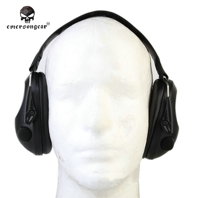 ФОТО Emersongear Shooting Paintball Equipment Tactical Noise Cancelling Peltor TAC-6-S Electronic Headset  Emerson EM8934 Black Olive
