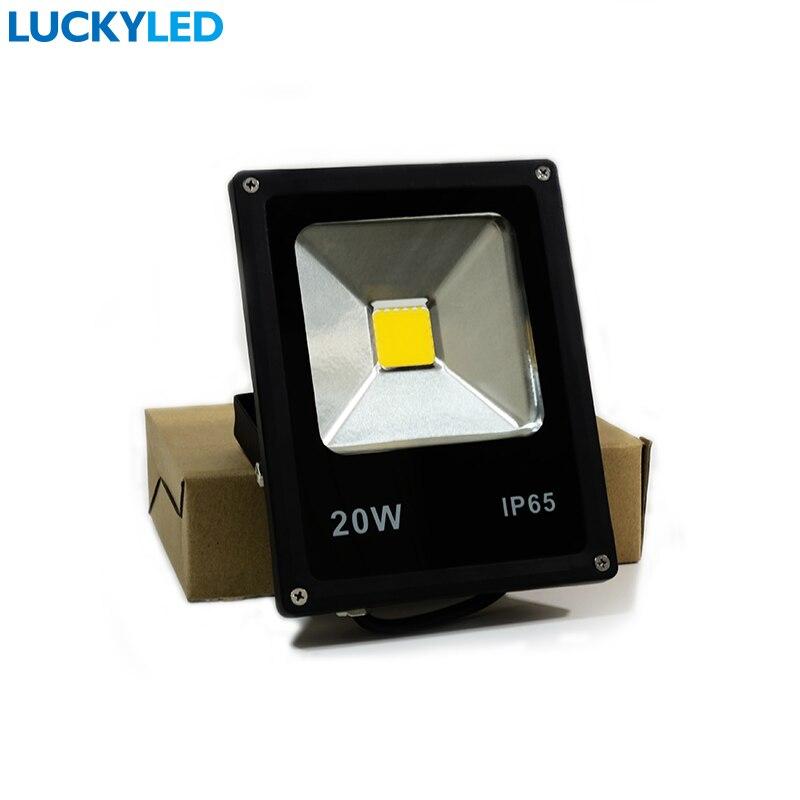 LUCKYLED Brand Garden outdoor lighting led landscape spotlight 20W AC85-265V waterproof IP65 LED Flood Light street Lamp
