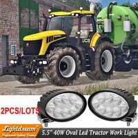 12V 24V Led Agriculture Work Light With 360degree Adjustable Aluminum Alloy Bracket For Tractor Car Truck