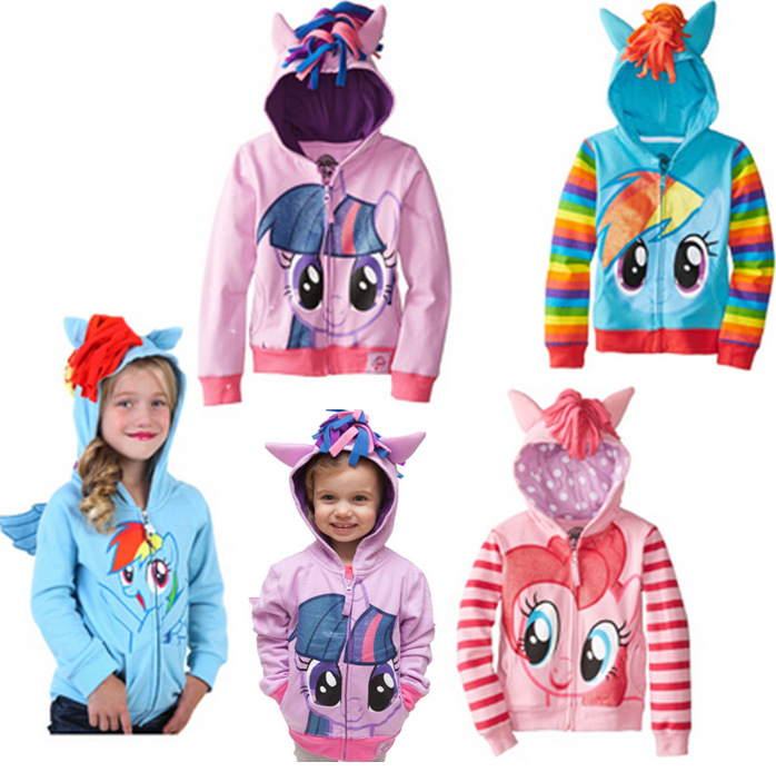 2017 Cute Brand Children's Outerwear, Boys Girls Clothing Coat Little Pony Jackets, My Kids Boy's Coat Avengers Hoodies/sweater