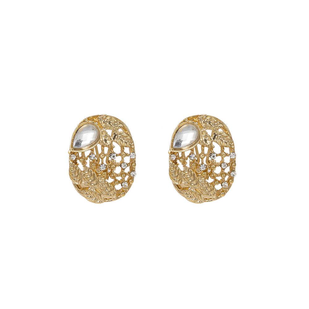 MuKun סט תכשיטים אפריקאי תכשיטים עבור כלות חתונה ניגרית זהב קריסטל דובאי תכשיטי סטים לנשים מסיבת אירוסין