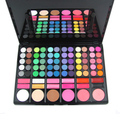 Professional 78 Color Eye Shadow Cheek Blusher Lip Gloss Makeup Palette Kit