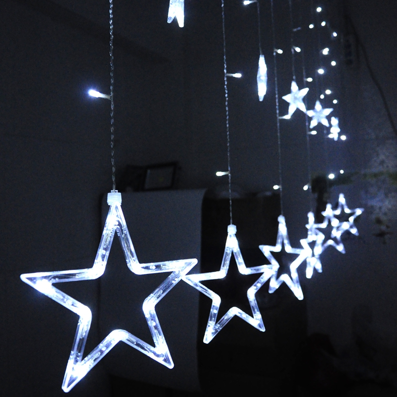 Aliexpress Com Buy 2 Meter Fairy Light Curtain New Year