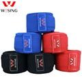 Wesing envío gratis boxeo handwraps 100% algodón saco de mano venda 2,5-5 m sanda muay thai handwraps