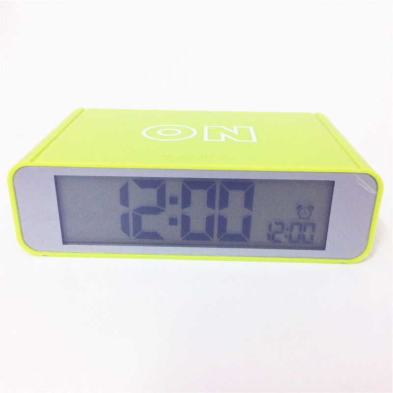Hot sale! alarm clocks backlight with snooze function desktop bedroom timer Lcd digital clock 9916agreen-Clock