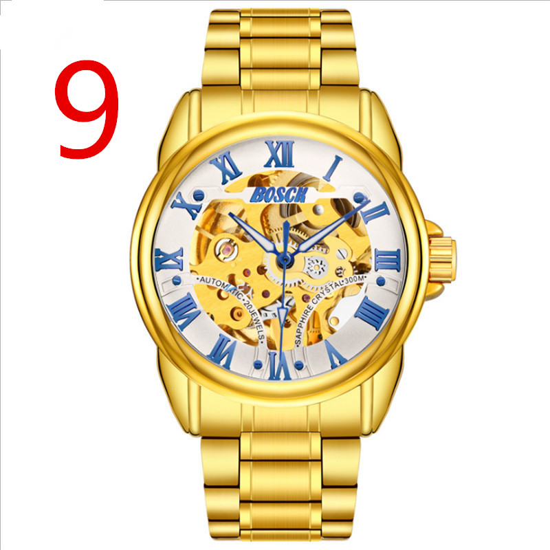 In 2018, the new top men's business watch is of exquisite workmanship and noble temperament. 10 is кожаные кеды ten top max