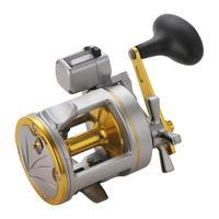 Lizard Digital Display Fishing Reels Metal Drum Shape Bait Casting Trolling Fishing Wheel On For Bass Fishing 2000-4000 Series
