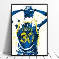 6e186217ff38 Stephen Curry 30 Basketball Star Sports Canvas Poster Wall Art Print Kids  Decor Home Decor Wall