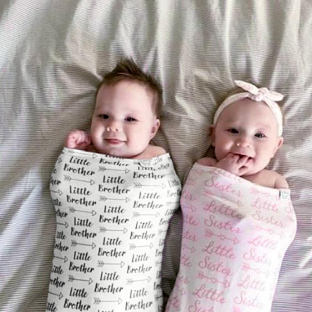Toddler Blanket Swaddle Sleeping Bag Kids Sleep Sack Stroller Wrap Headband L