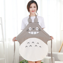 Cartoon Apron with Sleeves Set Waterproof Kitchen Soil Release Aprons home textiles women bibs New 3C