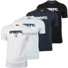 Mens T-Shirt By Merc London Brighton with Target Flock(China)
