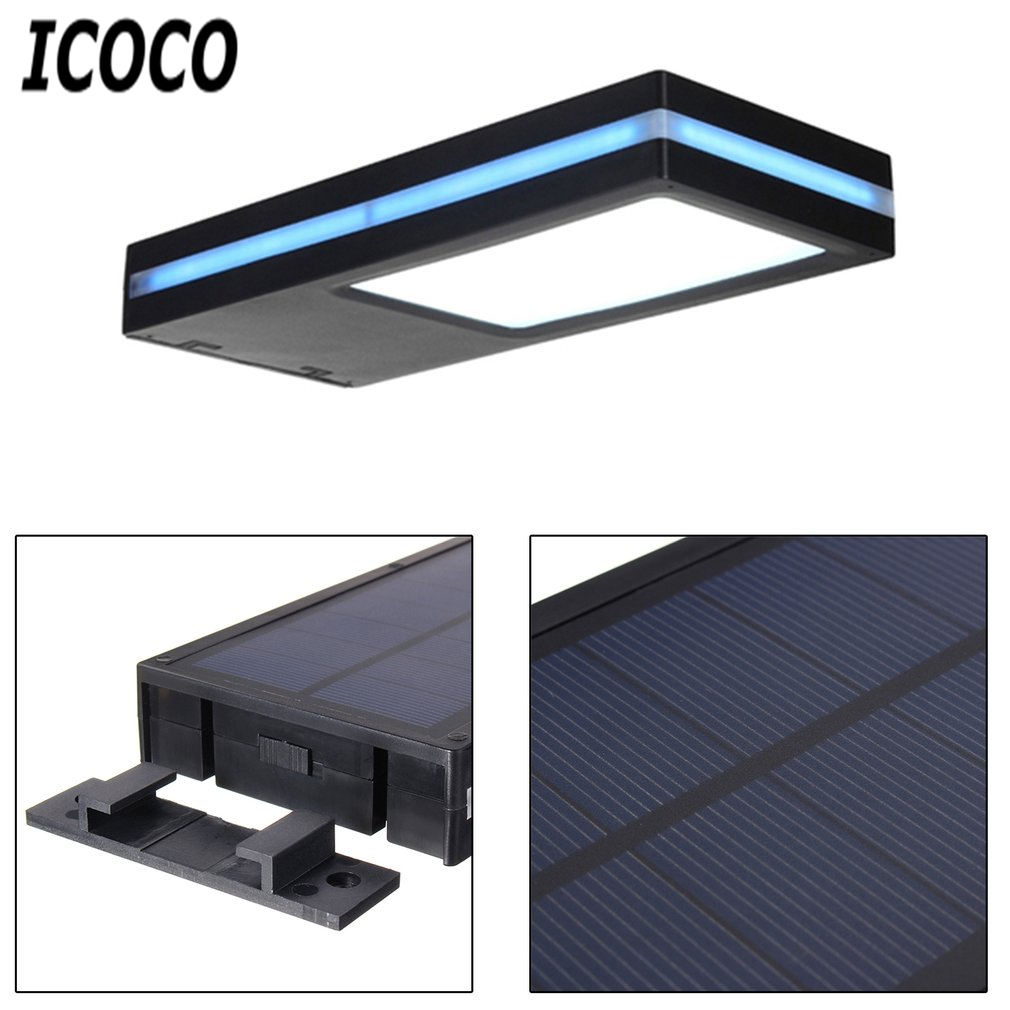 Waterproof Solar Mition Sensor Energy Saving Security Lamp Super Bright Induction LED Planel Light for Balcony Garden Quality