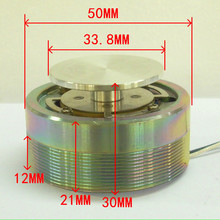 1 шт. 2 дюйма 50 мм 25 Вт Высокая мощность резонанс и вибрация шейкер низкочастотный Громкоговоритель Бас-привод самолет динамик DIY