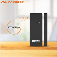 2 4G 5 8G 1750Mbps USB Adapter 5Ghz 802 11ac Adapter Wifi Comfast Wi Fi Network