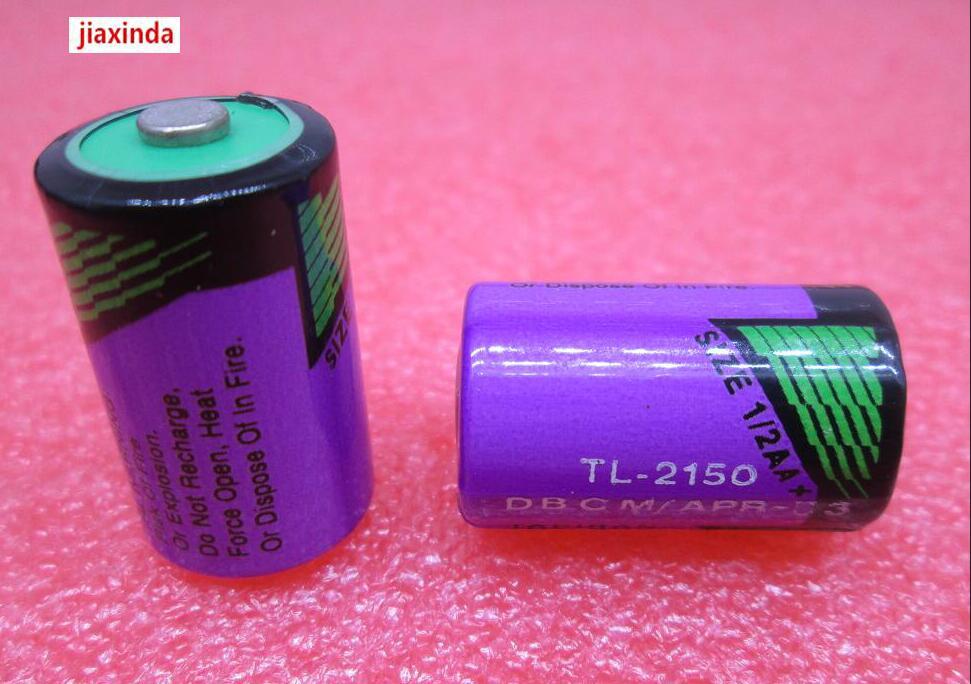 Jiaxinda ใหม่ TL 2150 3.6 V 1/2AA PLC แบตเตอรี่ลิเธียม TL2150 2150 DVPABT01 ใน PLC อุตสาหกรรม Li   Ion แบตเตอรี่-ใน แบตเตอรี่หลักและแห้ง จาก อุปกรณ์อิเล็กทรอนิกส์ บน AliExpress - 11.11_สิบเอ็ด สิบเอ็ดวันคนโสด 1