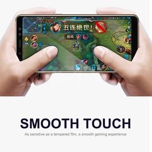 Image 4 - 9D Vetro di Protezione Per Per Samsung Galaxy A3 A5 A7 2016 2017 A6 A8 Più 2018 S7 Temperato Dello Schermo caso di protezione In Vetro Pellicola