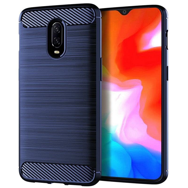 For <font><b>OnePlus</b></font> 6T WIERSS Armor Case cover for <font><b>OnePlus</b></font> 6T <font><b>A6013</b></font> for <font><b>OnePlus</b></font> 6 A6003 Shockproof phone Back cover Case image