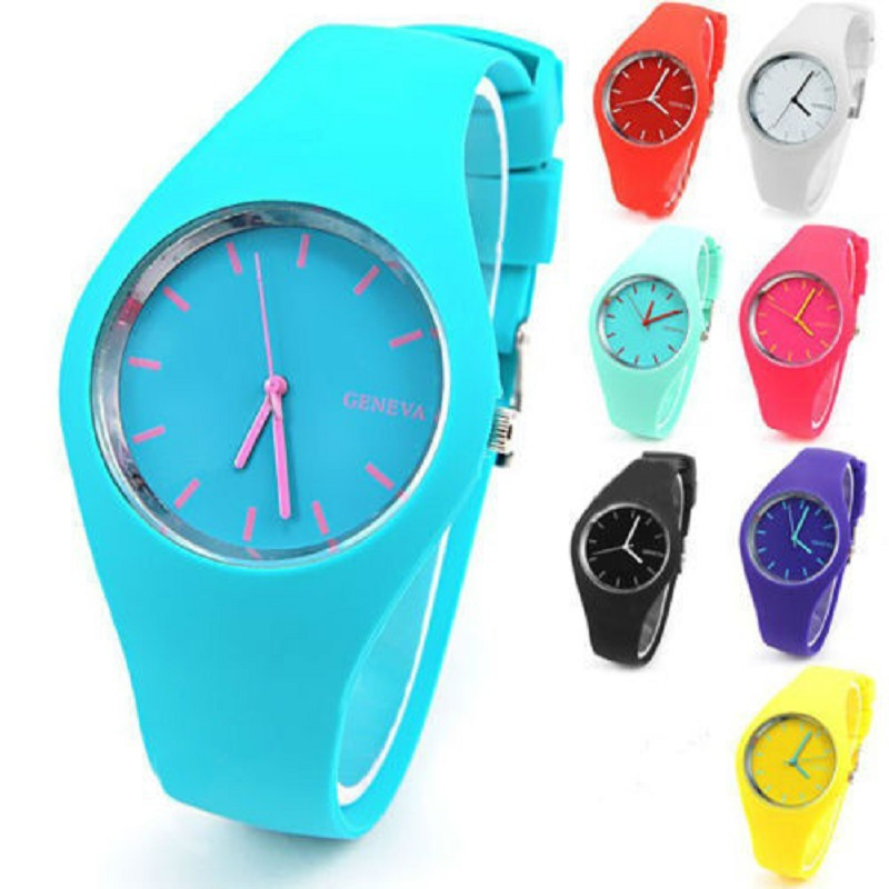 2019 Stylish Ultra Thin Silicone Watch For Ladies With Silicone Children Watch For  Kids Watch