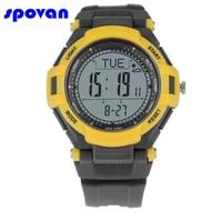 SPOVAN Men's Sport Watch Men Digital Altitude Barometer Compass Thermometer Pedometer Weather Military Watches Relogio Masculino