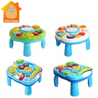 Music Table Baby Toys Learning Machine Educational Toy Music Learning Table Toy Musical Instrument for Toddler 6 months+