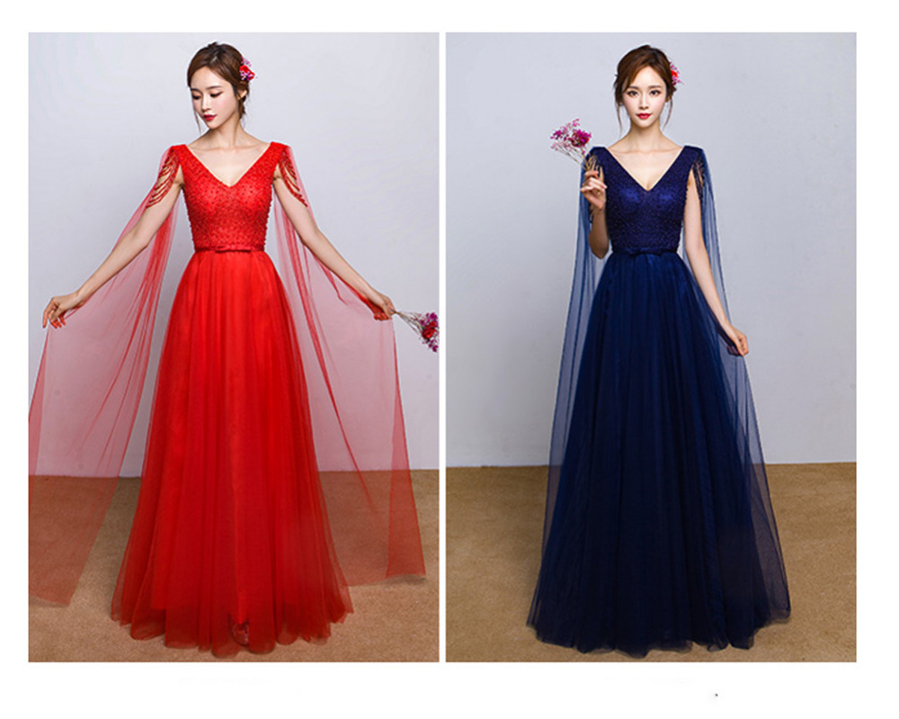 Red Navy Blue Wedding Dress A Line Bridal Gowns Lace Up