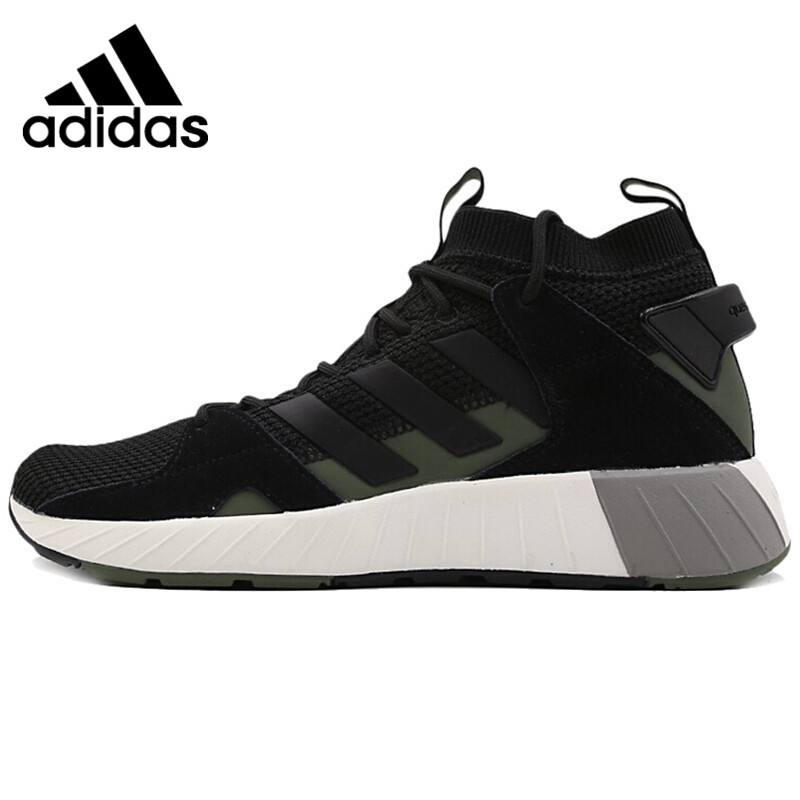US $107.1 30% OFF|Original New Arrival Adidas QUESTARSTRIKE MID Men's Running Shoes Sneakers in Running Shoes from Sports & Entertainment on
