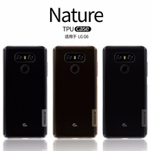 NILLKIN Nature Transparent TPU Case For LG G6 Case For LG G5 Clear silicon Soft Back Cover Case LG G6 G5 with Retail Package