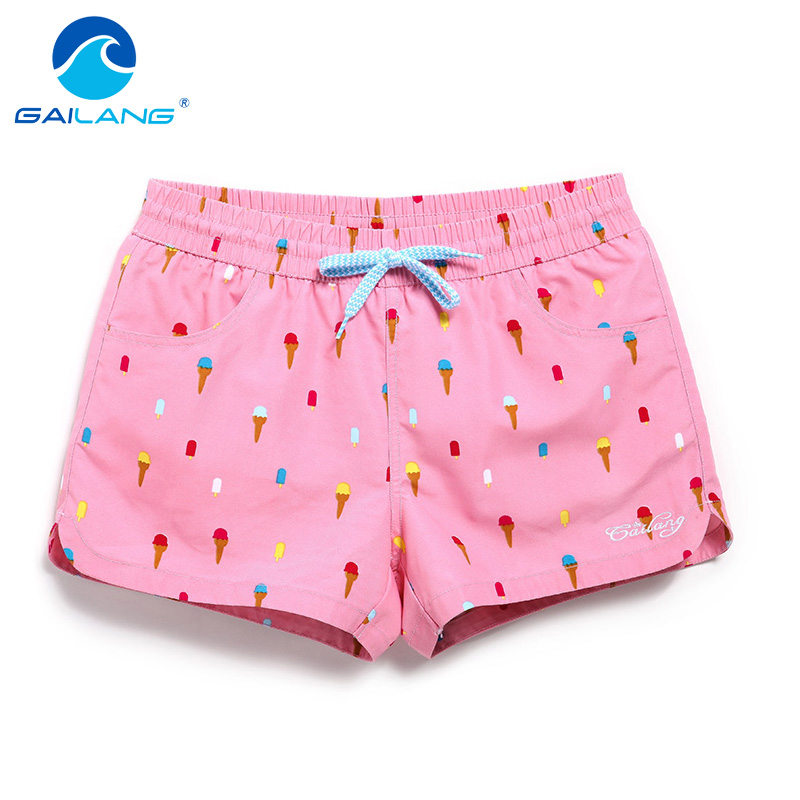 Gailang Značka Women Beach Board kraťasy Sun příležitostné aktivní šortky Jogger Sweatpants žena rychlé sušení Boxer kufry šortky móda