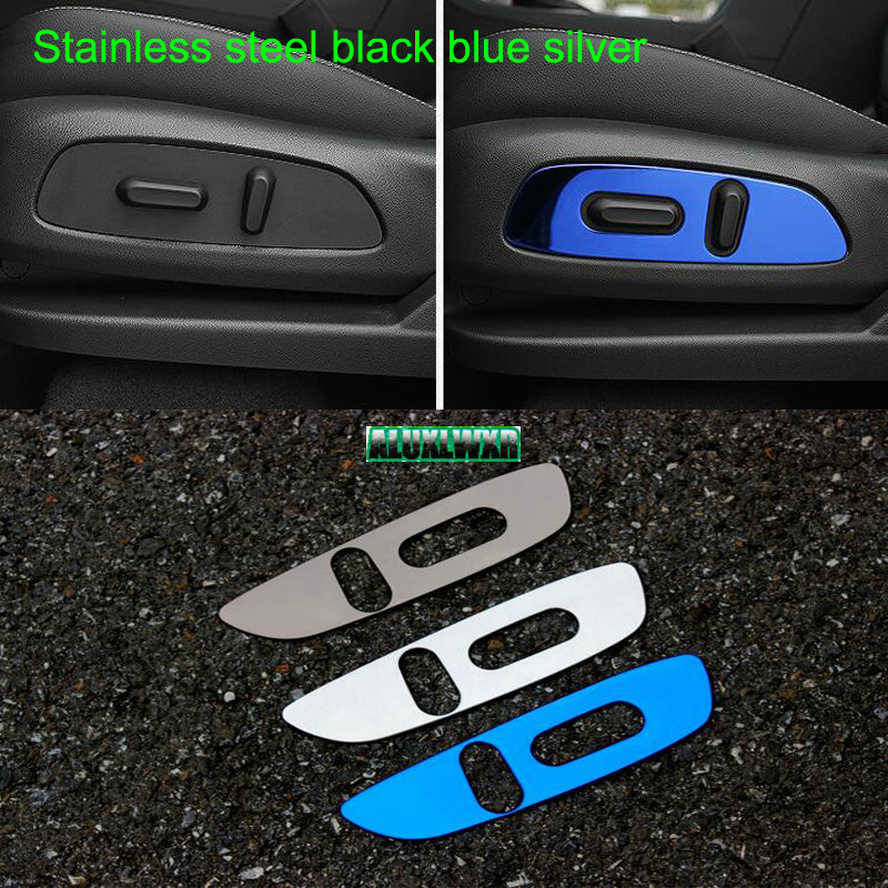 US $11 19 20% OFF|Car Interior front seatladjustment switch button  Decorative cover trim for Chevrolet Holden Equinox Third GE 2018 2019 2020  1PCS-in
