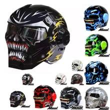 MASEI 610 IRONMAN motorcycle helmet Special theme Casque Moto half helmet Personality Open face helmet Cycle helmet 11 Colors GO