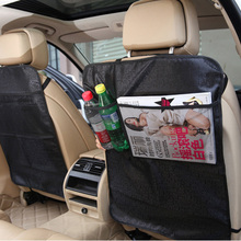 LUNDA Kick Mats Back Seat Protectors Storage Organizer Pocket /Best For Protection From Kid's Dirt ,Waterproof Car Covers lunda car storage bags back seat car seat covers seat back protector for children kick mats holder ipid travel organizer
