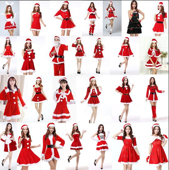 lots styles  christmas dress red santa cape Christmas fairy elves Santa Claus Cloak christmas party Halloween cosplay Costume