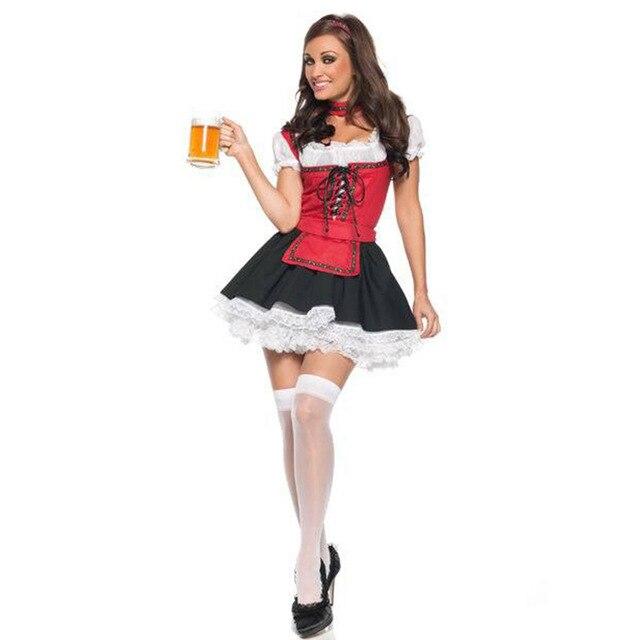 abbastanza 2017 Donne Sexy Vestito di Carnevale Halloween Costume Adulto  KU16