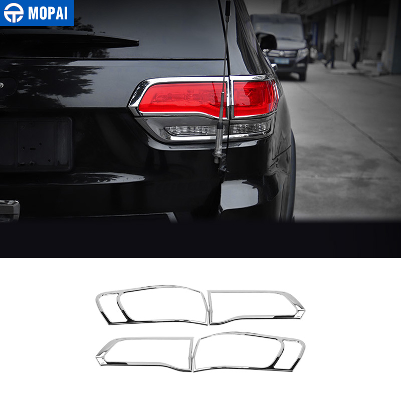MOPAI Lamp Hoods for Jeep Grand Cherokee 2011 Up Car Rear Tail Light Lamp Decoration Cover for Jeep Grand Cherokee Accessories-in Lamp Hoods from Automobiles & Motorcycles