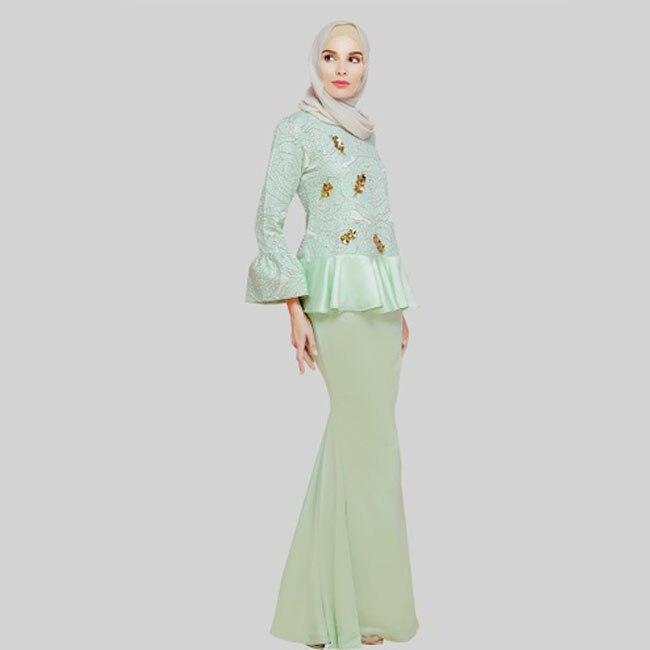 Advanced Customization Wholesale Middle East Women Fashion Print Muslim  Clothes Ladies Dresses Baju Kurung Malaysia Islamic Robe-in Dresses from  Women s ... 9375d40e7061