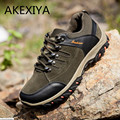 Caliente 2016 Nueva Primavera Otoño Zapatos Casuales de Fondo Plano Con Cordones Antidesgaste Zapatos Al Aire Libre Colores Negro Gris Y Marrón