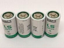 цена на Wholesale 50pcs/lot New Original France SAFT LS33600 D 3.6V LS 33600 Lithium Battery Non-rechargeable (LS33600) Batteries
