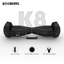 2017 Koowheel LED Hoverboard 6.5 Inch Electric Scooter Portable Two Wheels Self Balance e Scooter Cheap Hover Board for Kids(China)