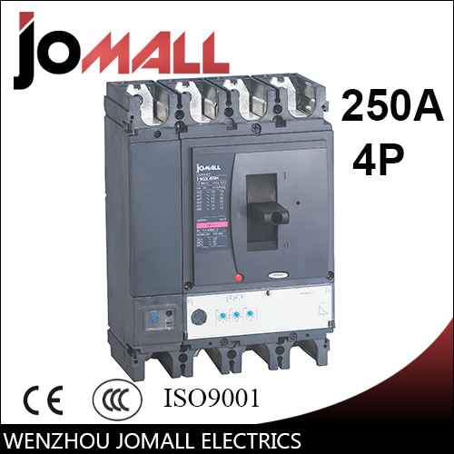250A 4P NSX new type mccb Moulded Case Circuit breaker 400a 4p 220v ns moulded case circuit breaker