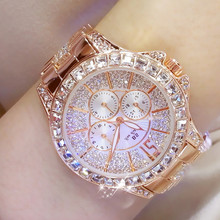 New Hot Selling An Arabic Digital Rhinestone Scale Watch High-end Linked List Custom Silver Square Full Crystal