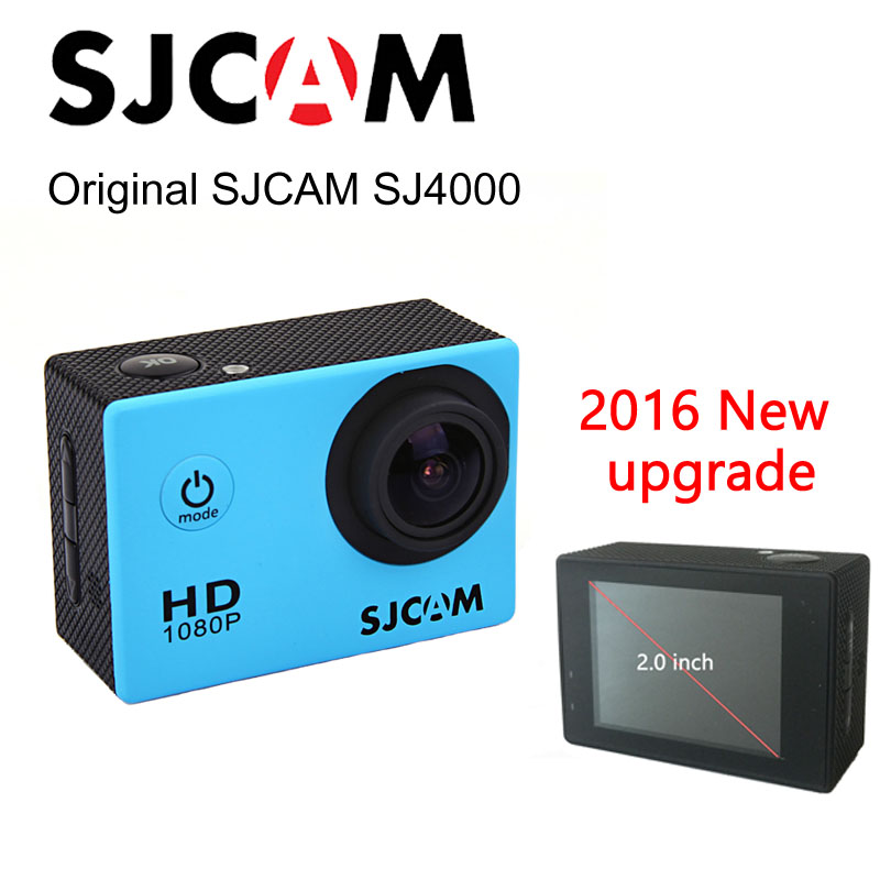 Sports Action Camera Original SJCAM SJ4000 2.0'' inch sj cam 4000 Waterproof HD extreme Helmet mini Camcorder 1080P HD Car DVR
