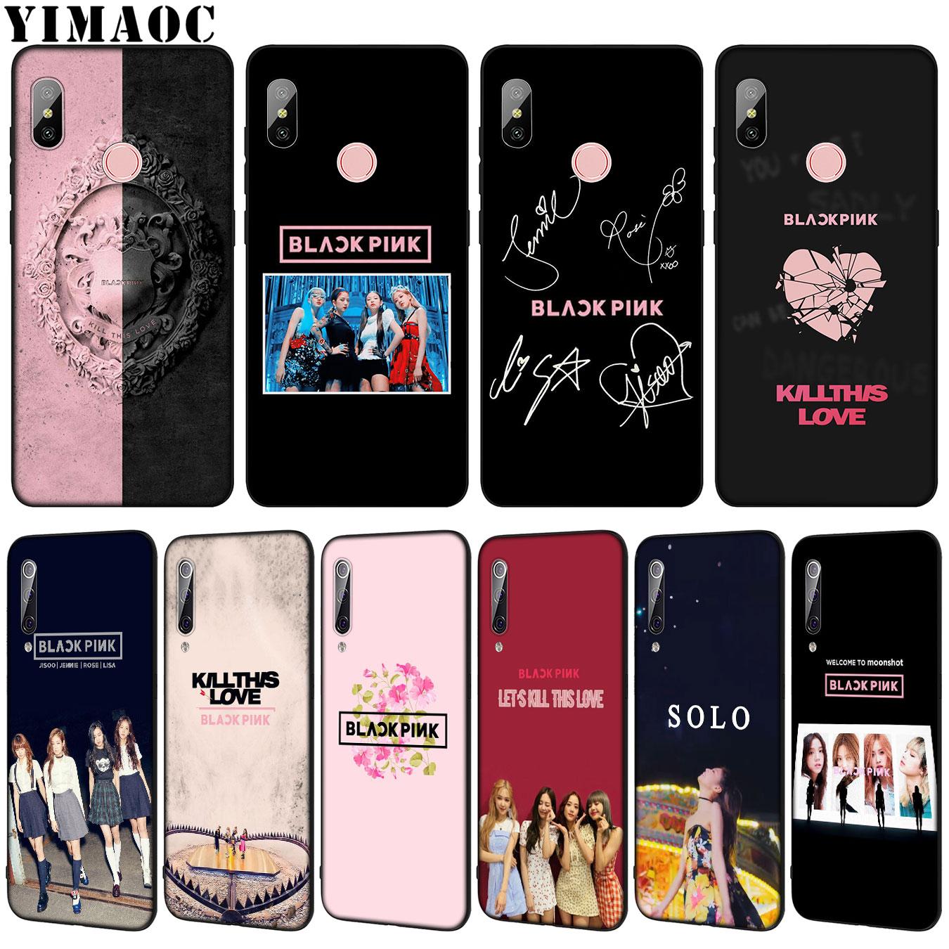 Phone Bags & Cases Nice Lavaza Kpop Blackpink Black Pink Phone Cover Case For Xiaomi Mi 9 8 Se A2 Lite A1 Pocophone F1 6 6x 5s 5x Mix 2s Max 3 Mi9 Mi8 Half-wrapped Case