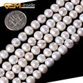 Natural Freshwater Pearl Beads For Jewelry Making 7-8mm Craft Beads 15inches DIY Jewellery FreeShipping Wholesale Gem-inside