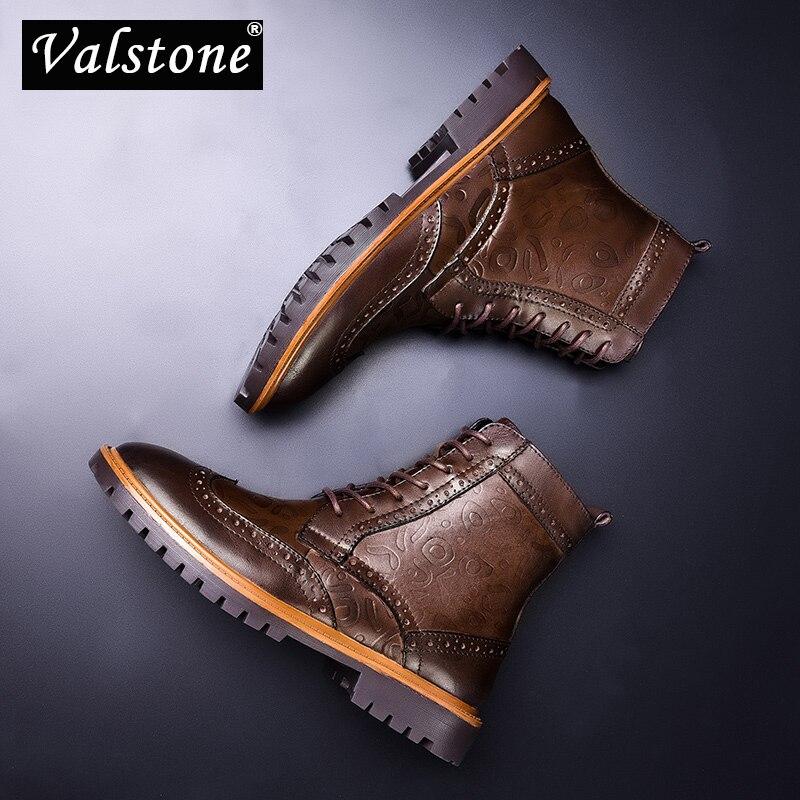 Neige Naturel Luxe Valstone Plus Fur Cuir brown En 47 Fur Taille Chaussures  Bottes Peluche De Véritable Doublure Botte Hommes ... 2f9eefa5df32