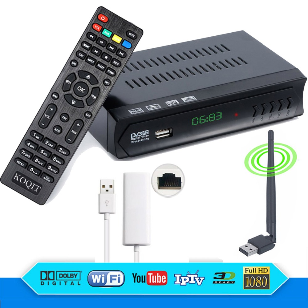 ≧ New! Perfect quality satellite combo receiver and get