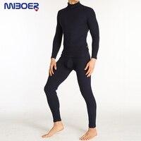 Thermal Underwear Sets Super Stretch Underwear Cotton Thermal Suit Men Comfort Slim Sexy Mens Clothes Sexy