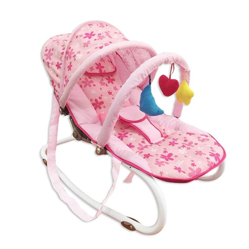 Multifonctionnel nouveau-né bébé berceau videur balançoire chaise Portable bébé à bascule berceau chaise pépinière infantile siège videur Rocker