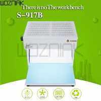 Mini Dust Free Cleaning Workbench Dustfree Working Room Bench Clean Table Precision instrument Mobile phone repair tool